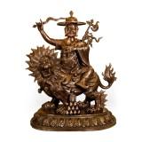 多杰雄登黄铜像(39寸)